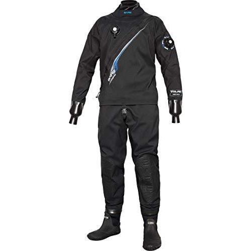 Bare Trilam Tech Dry メンズ ダイビング ドライスーツ(ブラック、XL)【並行輸入品】