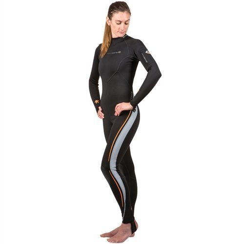 New Women's LavaCore BackZip Trilaminate Polytherm Full Jumpsuit for Extreme Watersports (Size Large) by Lavacore【並行輸入品】