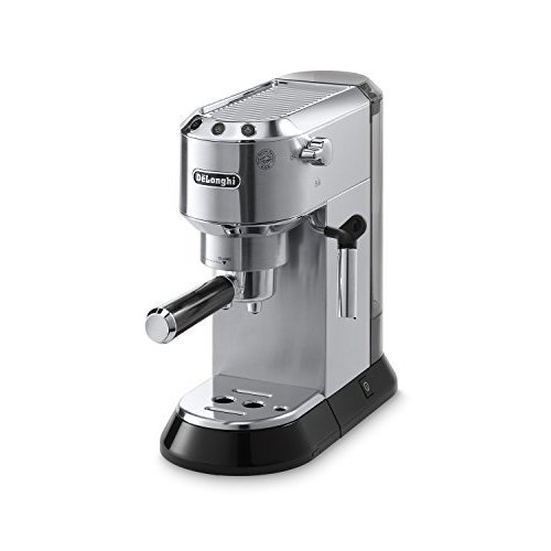 Delonghi EC680M DEDICA 15-Bar Pump Espresso Machine, Stainless Steel by DeLonghi【並行輸入品】