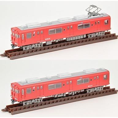 鉄コレ名古屋鉄道6000系 蒲郡線・ワンマン仕様 2両セット トミーテック|minato-m