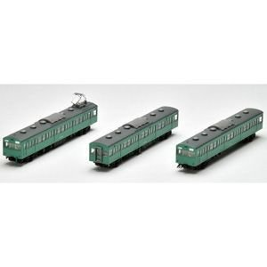 92479 国鉄 103系通勤電車(初期型冷改車・エメラルドグリーン)基本セット 3両 トミックス Nゲージ 2020年02月予約 再販