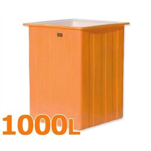 スイコー 特殊角型タンク KH型容器 KH-1000 (容量1000L) [角型タンク KH型容器 角槽]