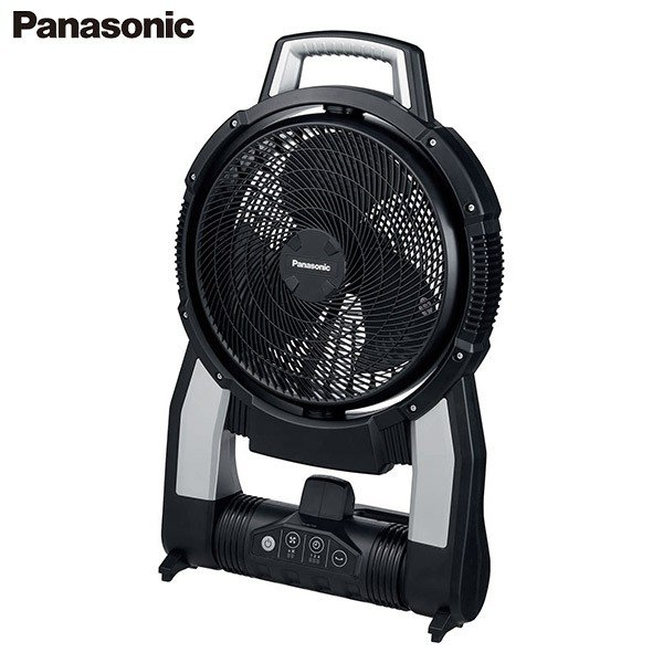 パナソニック 充電式扇風機 EZ37A4-B 本体のみ [Panasonic 工事用 ポータブル コードレス ファン バッテリー 14.4V 18V]