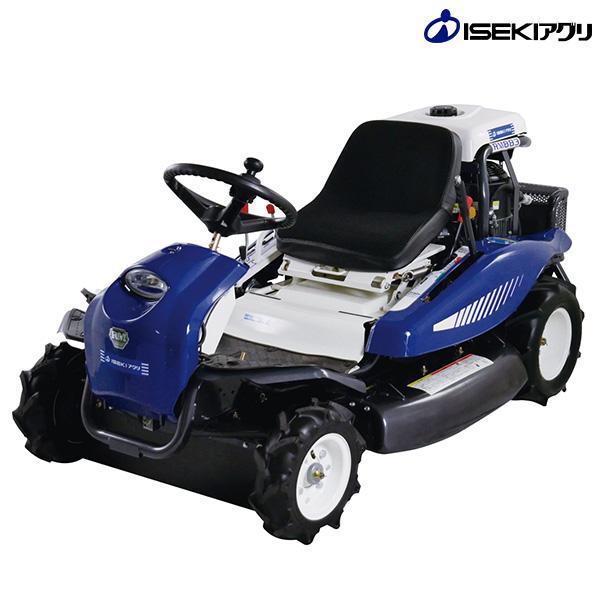 イセキアグリ 乗用草刈り機 RM883 (HST無段階変速装置/刈幅880mm) [イセキ 乗用モアー 乗用草刈り機]