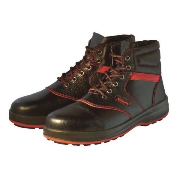 シモン 安全靴 編上靴 SL22-R黒/赤 24.5cm SL22R24.5 [SL22R-24.5][r20][s9-910] ミナト電機工業 - 通販 - PayPayモール