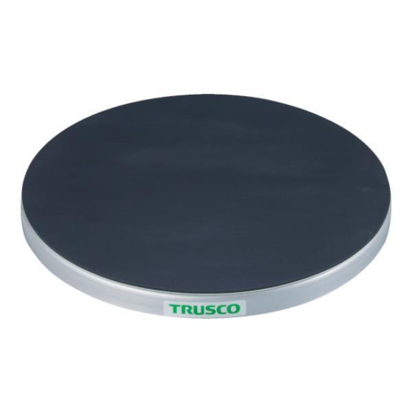 TRUSCO 回転台 100Kg型 Φ600 ゴムマット張り天板 TC6010G [TC60-10G][r20][s9-920]