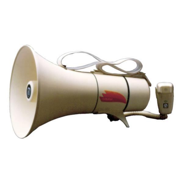 ノボル ショルダータイプメガホン13Wホイッスル音付き(電池別売) TM208 [TM-208][r20][s9-910]