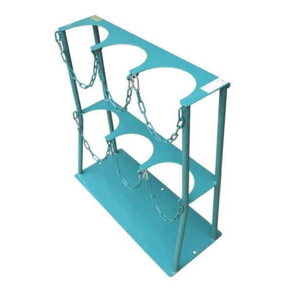 KS ボンベスタンド 1500L容器三本用 KS15003 [KS-1500-3][r22]