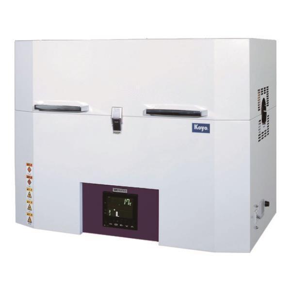 光洋 小型チューブ炉 1100℃シリーズ 1ゾーン制御タイプ プログラマ仕様 KTF035N1 [r22]