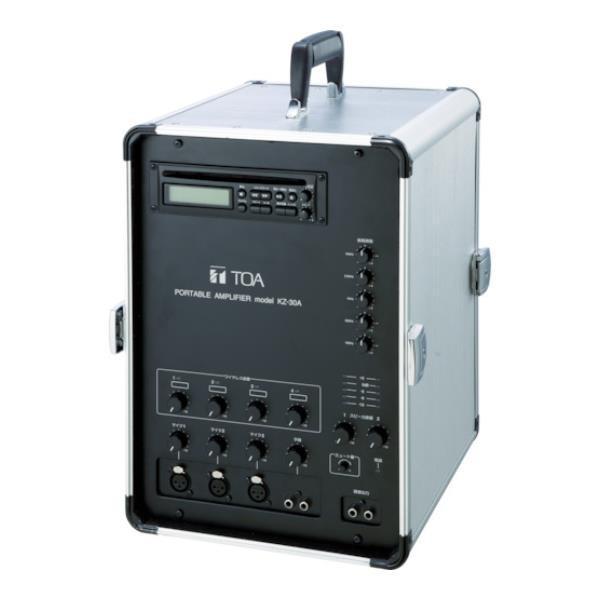 TOA 移動用PAアンプ30W KZ30A [KZ-30A][r20][s9-940]