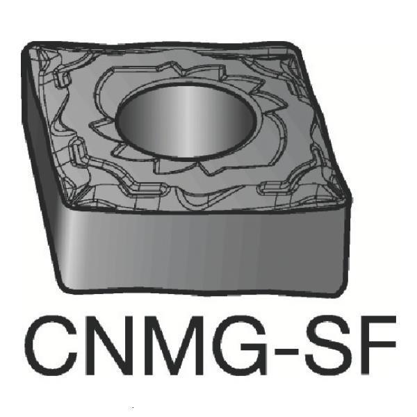 サンドビック T-Max P 旋削用ネガ·チップ H13A CNMG120408SF ×10個セット (H13A) [CNMG 12 04 08-SF][r20][s9-830]