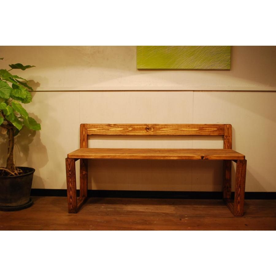 ベンチ 椅子 イス ダイニングチェア おしゃれ  無垢 北欧 無垢材 インテリア家具 木製 ナチュラル 本物 日本製 天然素材 サダモクデザイン カフェベンチ W1200 minatojimarocket