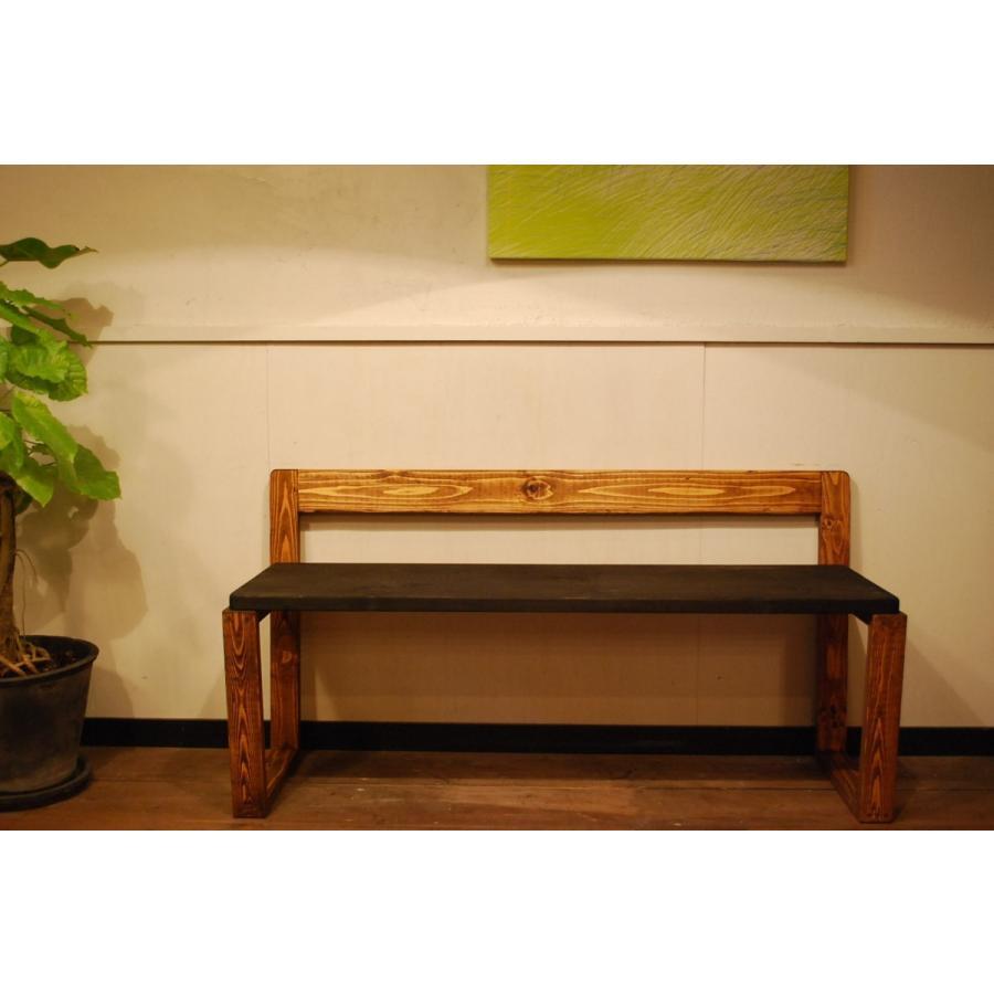 ベンチ 椅子 イス ダイニングチェア おしゃれ  無垢 北欧 無垢材 インテリア家具 木製 ナチュラル 本物 日本製 天然素材 サダモクデザイン カフェベンチ W1200 minatojimarocket 04