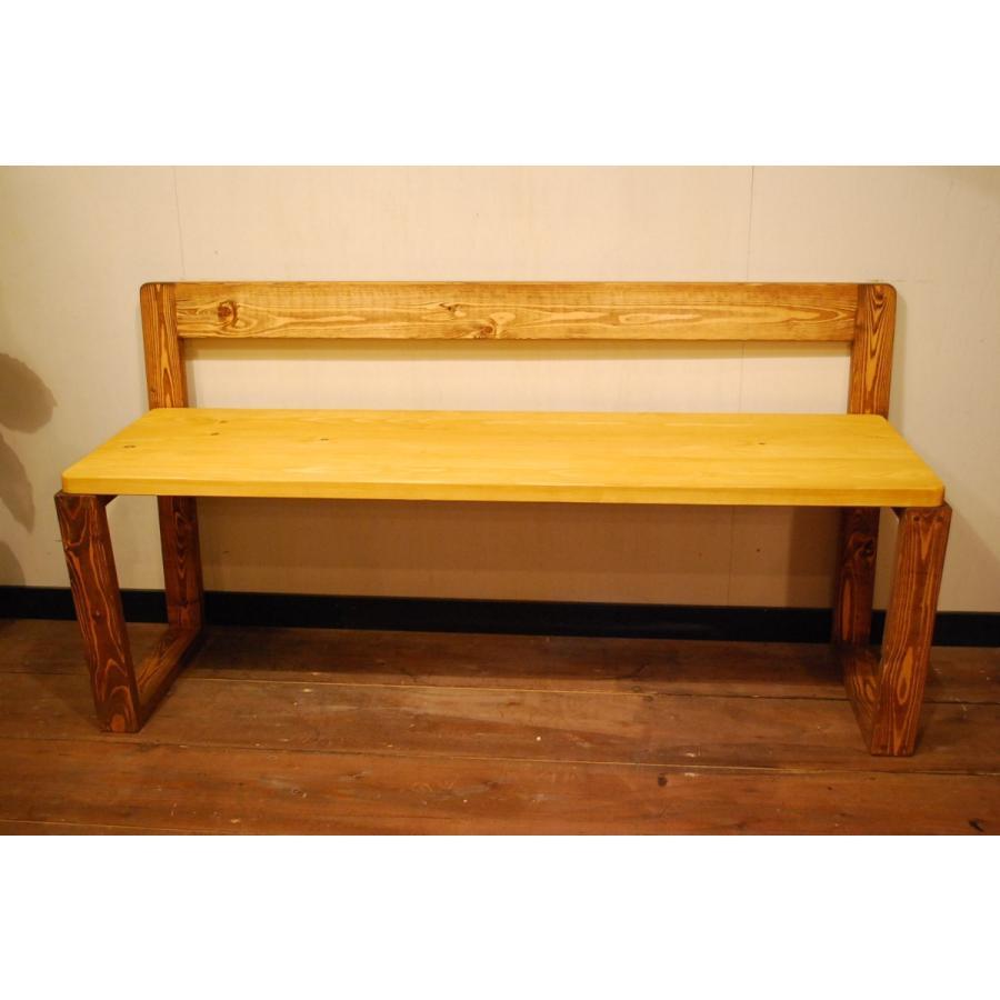 ベンチ 椅子 イス ダイニングチェア おしゃれ  無垢 北欧 無垢材 インテリア家具 木製 ナチュラル 本物 日本製 天然素材 サダモクデザイン カフェベンチ W1200 minatojimarocket 05