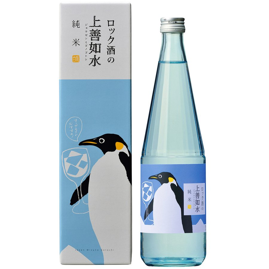 日本酒 新潟 白瀧酒造 ロック酒の上善如水 純米 720ml|minatoya|02