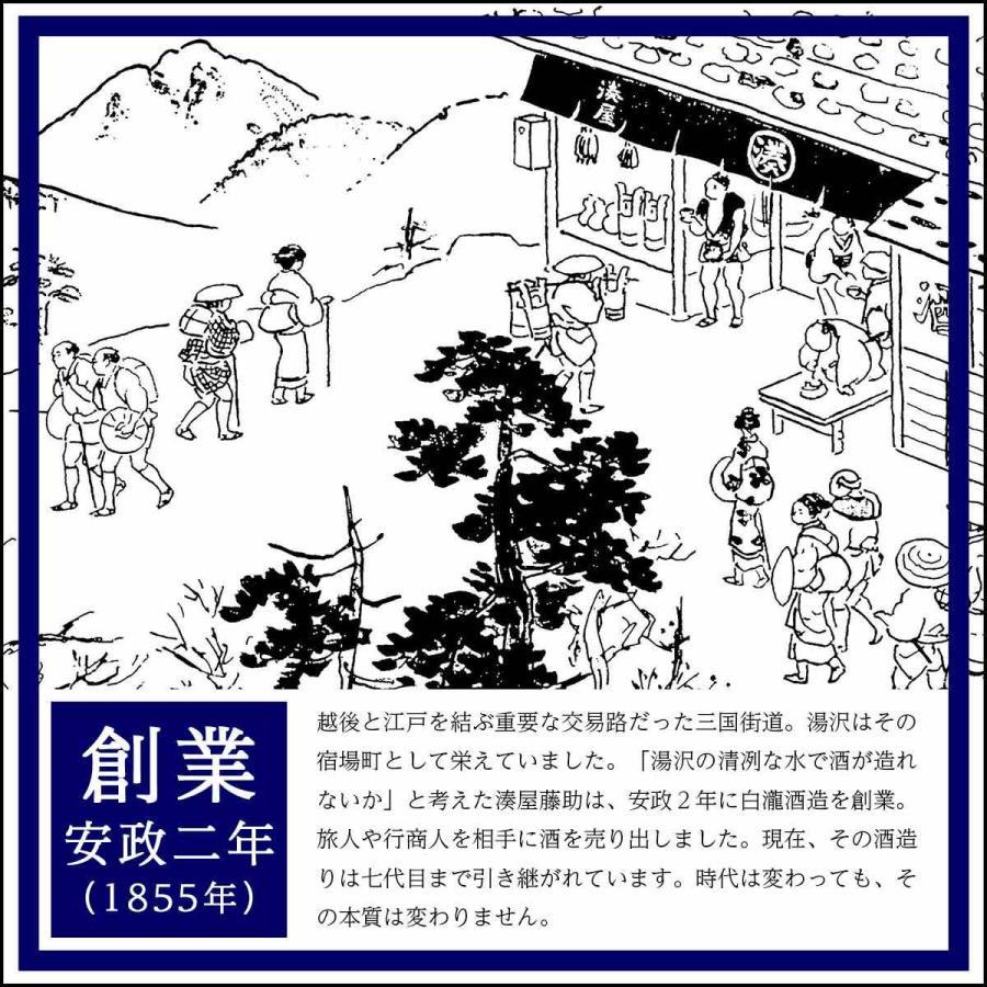 日本酒 新潟 白瀧酒造 ロック酒の上善如水 純米 720ml|minatoya|20