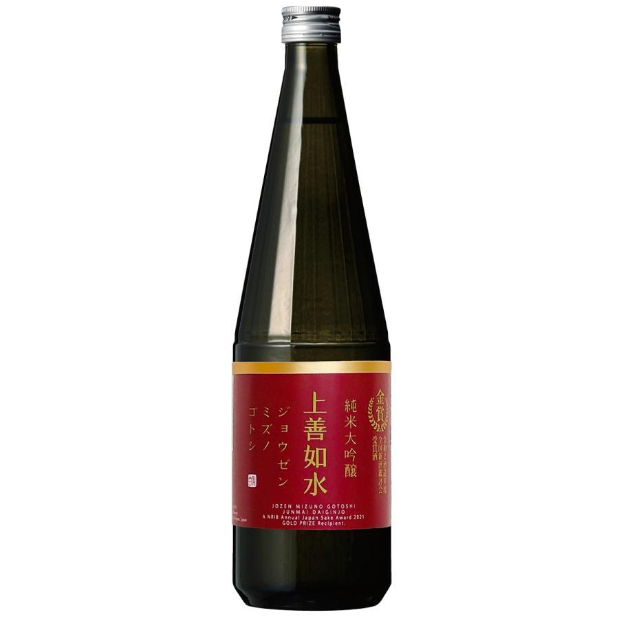 白瀧酒造 上善如水 純米大吟醸 金賞受賞酒 720ml 日本酒 新潟 minatoya 02