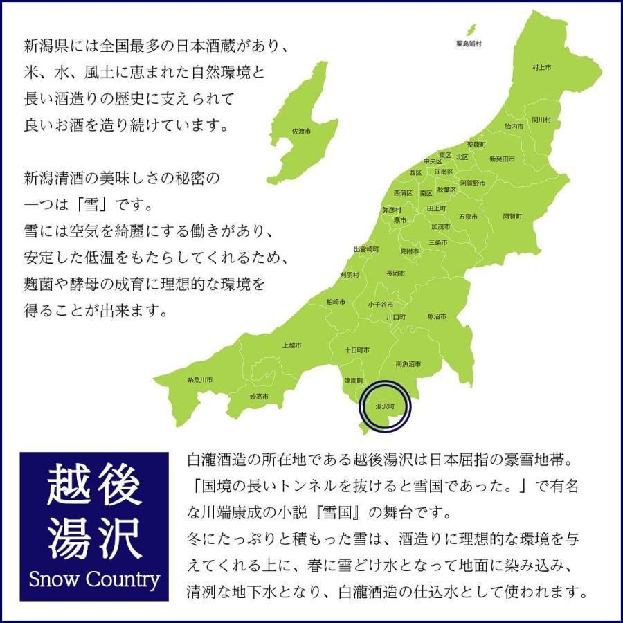 白瀧酒造 上善如水 純米大吟醸 金賞受賞酒 720ml 日本酒 新潟 minatoya 14