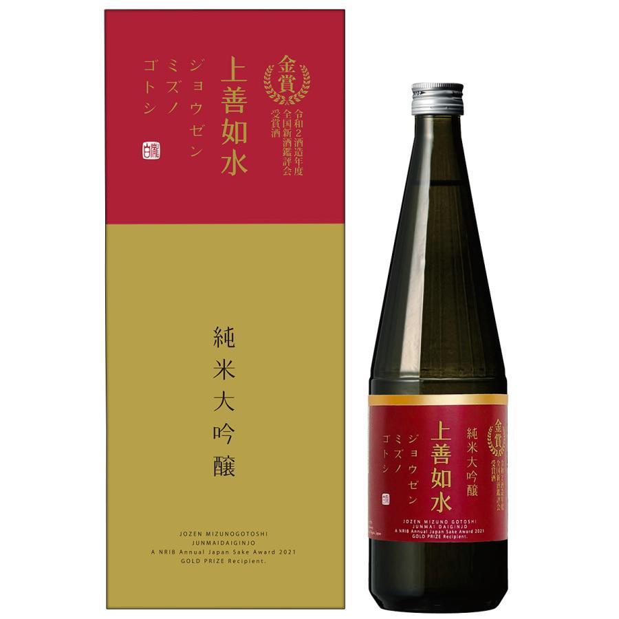白瀧酒造 上善如水 純米大吟醸 金賞受賞酒 720ml 日本酒 新潟 minatoya 04