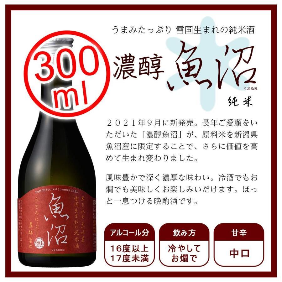 白瀧酒造 上善如水×魚沼 飲み比べセット 300ml×4本入り minatoya 11