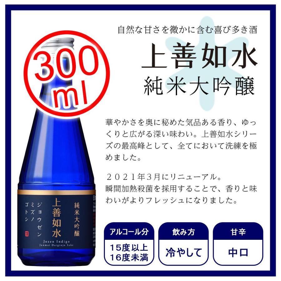 白瀧酒造 上善如水×魚沼 飲み比べセット 300ml×4本入り minatoya 09