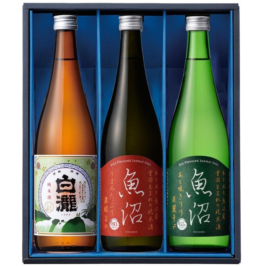 白瀧酒造 純米酒ギフトセット 720ml×3本入り minatoya 02