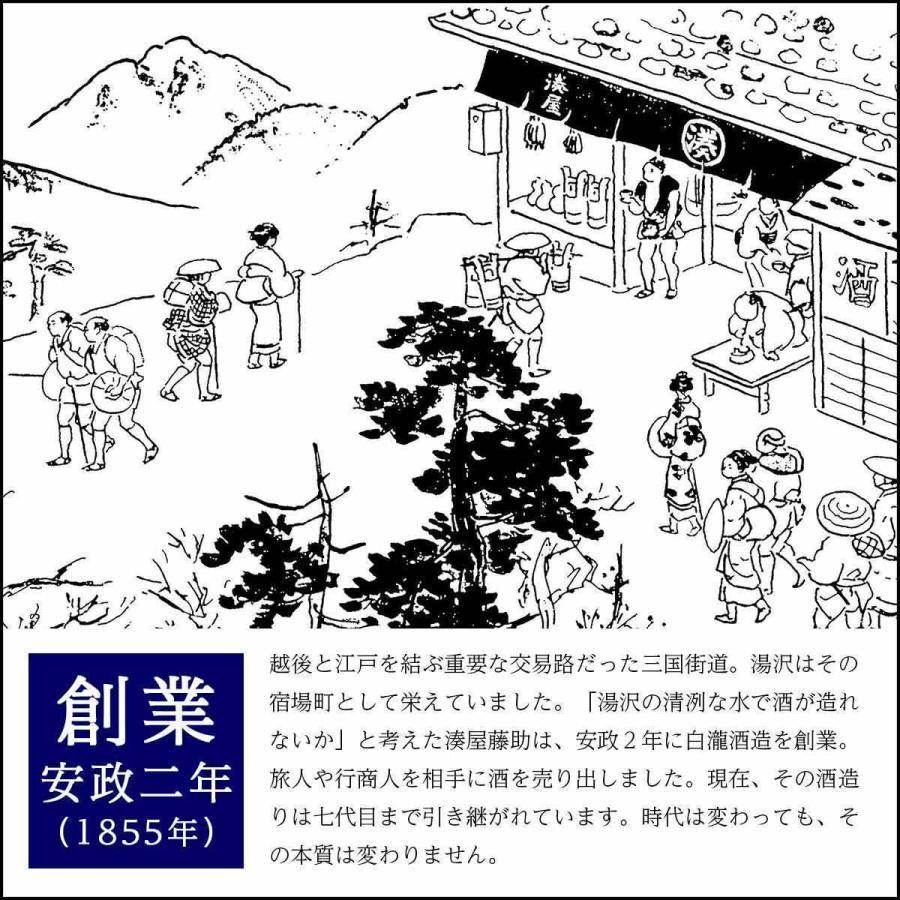 白瀧酒造 純米酒ギフトセット 720ml×3本入り minatoya 11