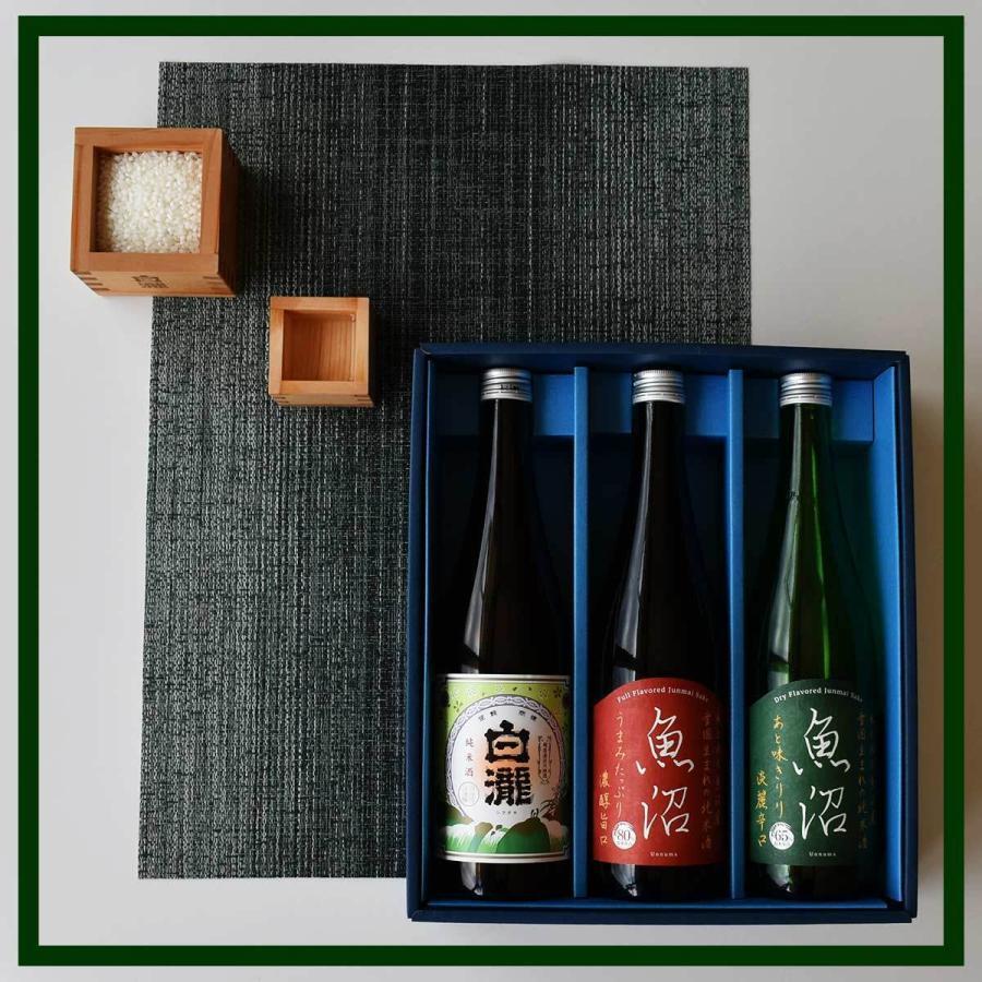 白瀧酒造 純米酒ギフトセット 720ml×3本入り minatoya 03