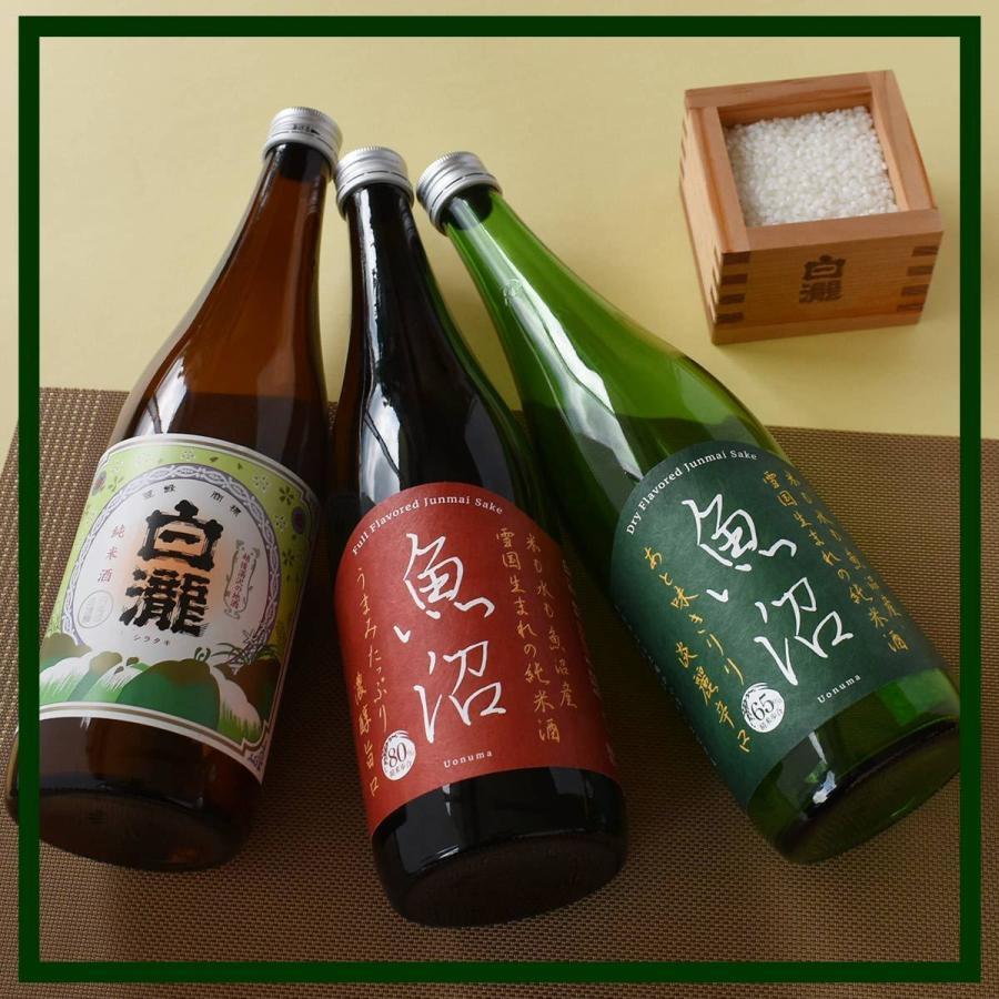 白瀧酒造 純米酒ギフトセット 720ml×3本入り minatoya 08