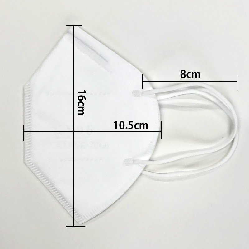 KN95マスク50枚セット 5層 N95規格 不織布マスク 立体型マスク 粉塵 花粉 使い捨てマスク|minet|10