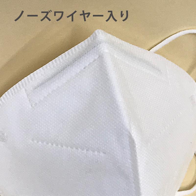 KN95マスク50枚セット 5層 N95規格 不織布マスク 立体型マスク 粉塵 花粉 使い捨てマスク|minet|06