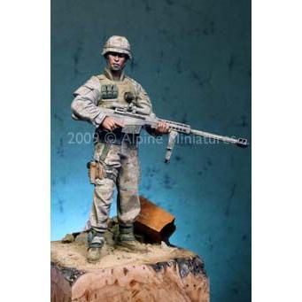 現用アメリカ海兵隊 狙撃手(ヘッド2個入) Modern USMC Sniper