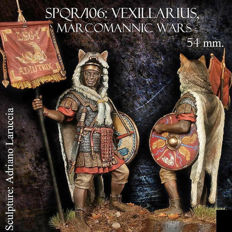 古代ローマ軍団 百人隊長 マルコマンニ戦争 西暦170年 Roman Centurion ...
