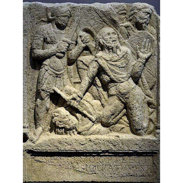 古代ローマ軍 第1軍団アディウトリクス 百人隊副官(OPTIO) 170年 ...
