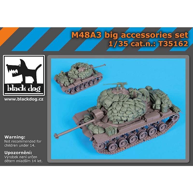 現用アメリカ軍 M48A3戦車 徳用アクセサリーセット(ドラゴン用) M48A3 big accessories set for Dragon 1/35 [BD-T35162]