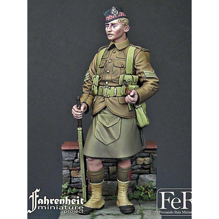 第一次世界大戦 イギリス軍 アーガイル&サザーランドハイランダーズ ...