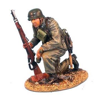 ドイツ軍 国防軍 小銃と手榴弾持ち膝をつく歩兵... - ミニチュアパーク