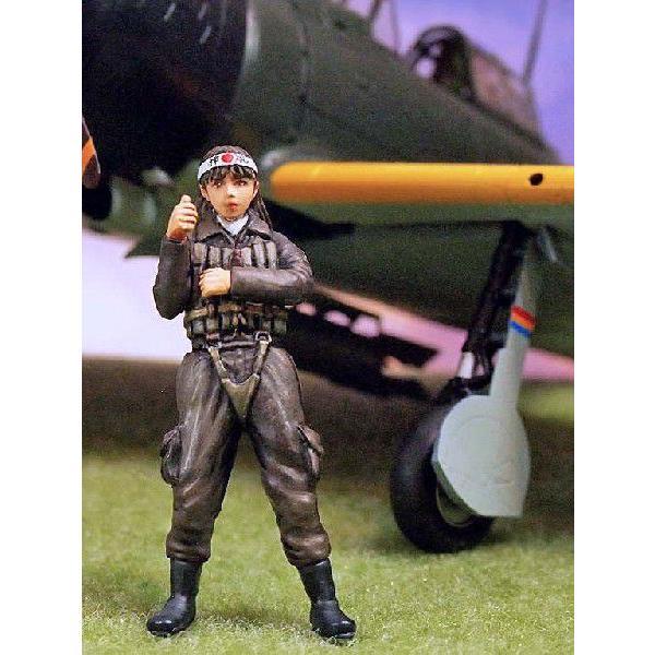 大日本帝国海軍 ゼロ戦女性パイロット 1947年 v... - ミニチュアパーク