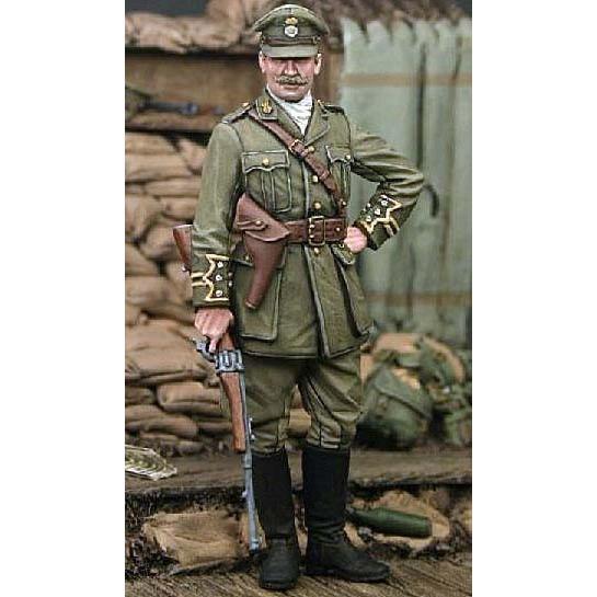 イギリス軍 王立ウェールズ連隊 第2大隊 大尉 プログスティート 1915年 ...