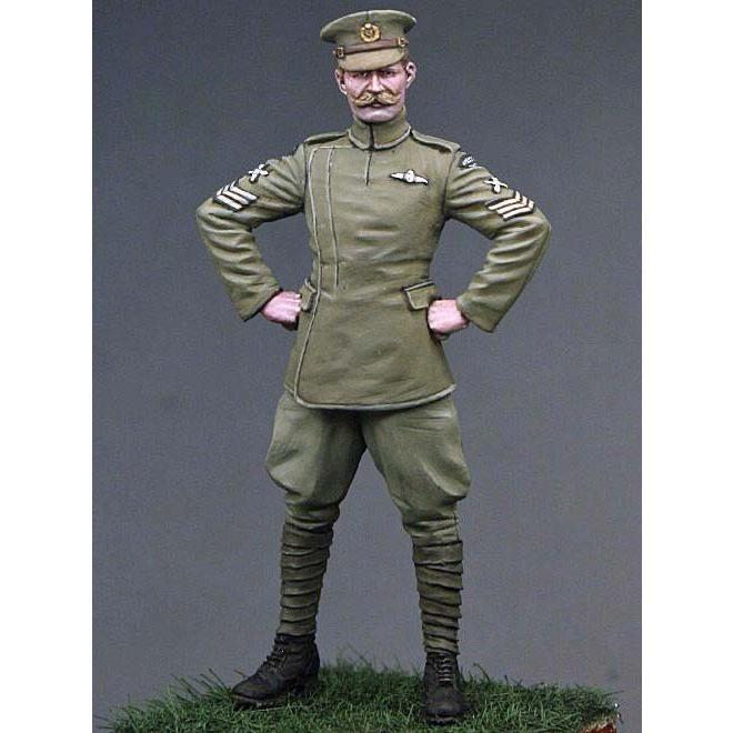 イギリス陸軍航空隊(RFC) 第4飛行隊 パイロット 軍曹(制服 ...