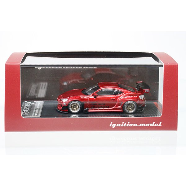 ignition model 1753 PANDEM TOYOTA 86 V3 Red Metallic|minicar-kenbox