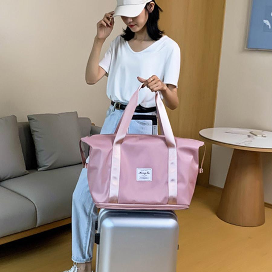 キャリーオンバッグ トラベルバッグ レディース 大容量 旅行バッグ はっ水加工 ボストンバッグ 男女兼用|miniministore|12