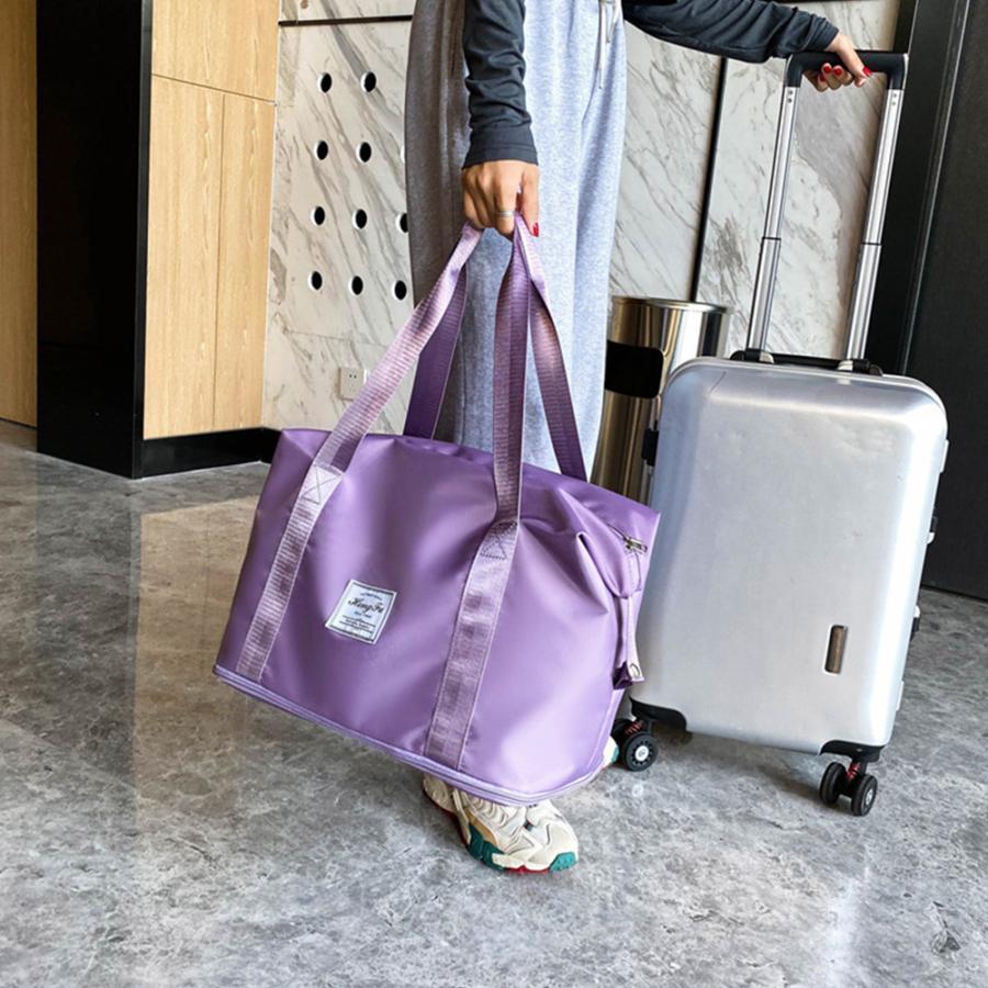 キャリーオンバッグ トラベルバッグ レディース 大容量 旅行バッグ はっ水加工 ボストンバッグ 男女兼用|miniministore|13