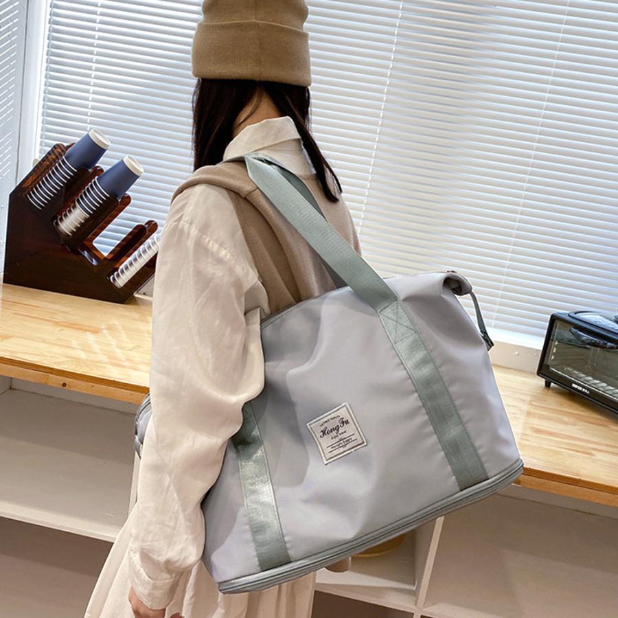 キャリーオンバッグ トラベルバッグ レディース 大容量 旅行バッグ はっ水加工 ボストンバッグ 男女兼用|miniministore|14