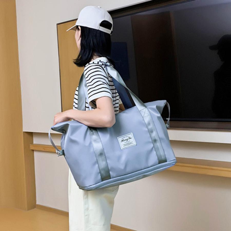 キャリーオンバッグ トラベルバッグ レディース 大容量 旅行バッグ はっ水加工 ボストンバッグ 男女兼用|miniministore|15