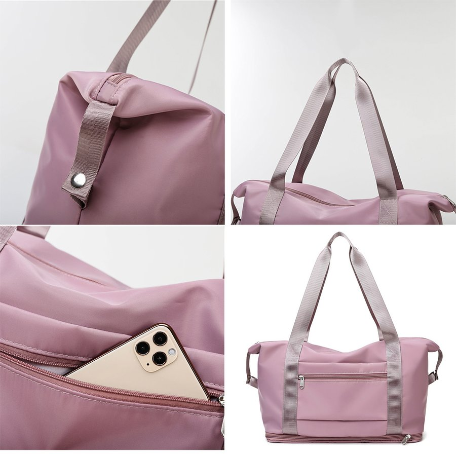 キャリーオンバッグ トラベルバッグ レディース 大容量 旅行バッグ はっ水加工 ボストンバッグ 男女兼用|miniministore|03