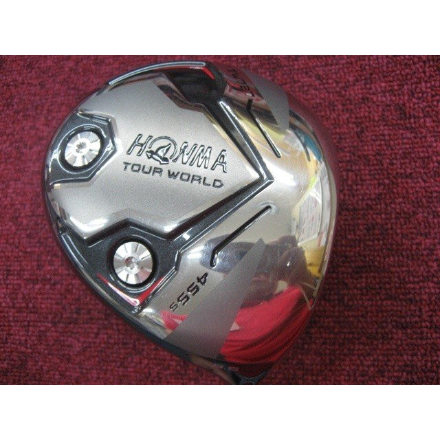 【特選中古 FROM OSAKA JAPAN】HONMA/本間ゴルフ TOUR WORLD TW727 455S 9.5゜ シャフト VIZARD YZ75 フレックス S 商品No,4008