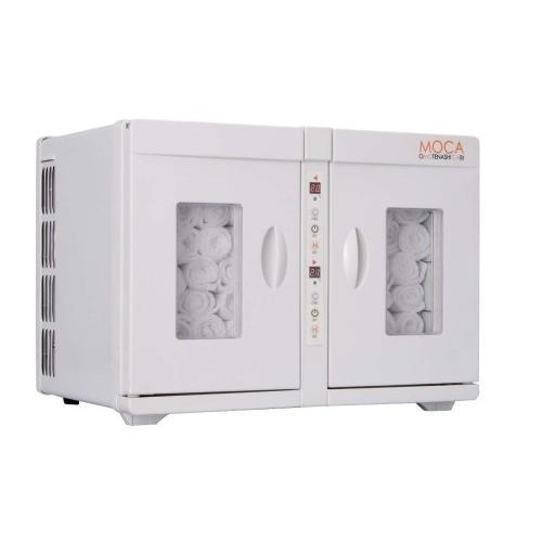 タオルウォーマー 業務用温冷庫 MOCA CHC-16WF·両開きタイプ(7-0800-0101)