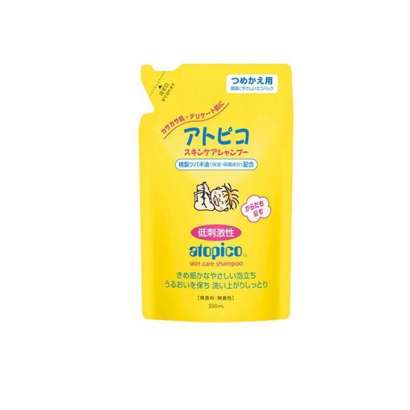 アトピコ スキンケアシャンプー 350mL (詰め替え用) (1個) minoku-value