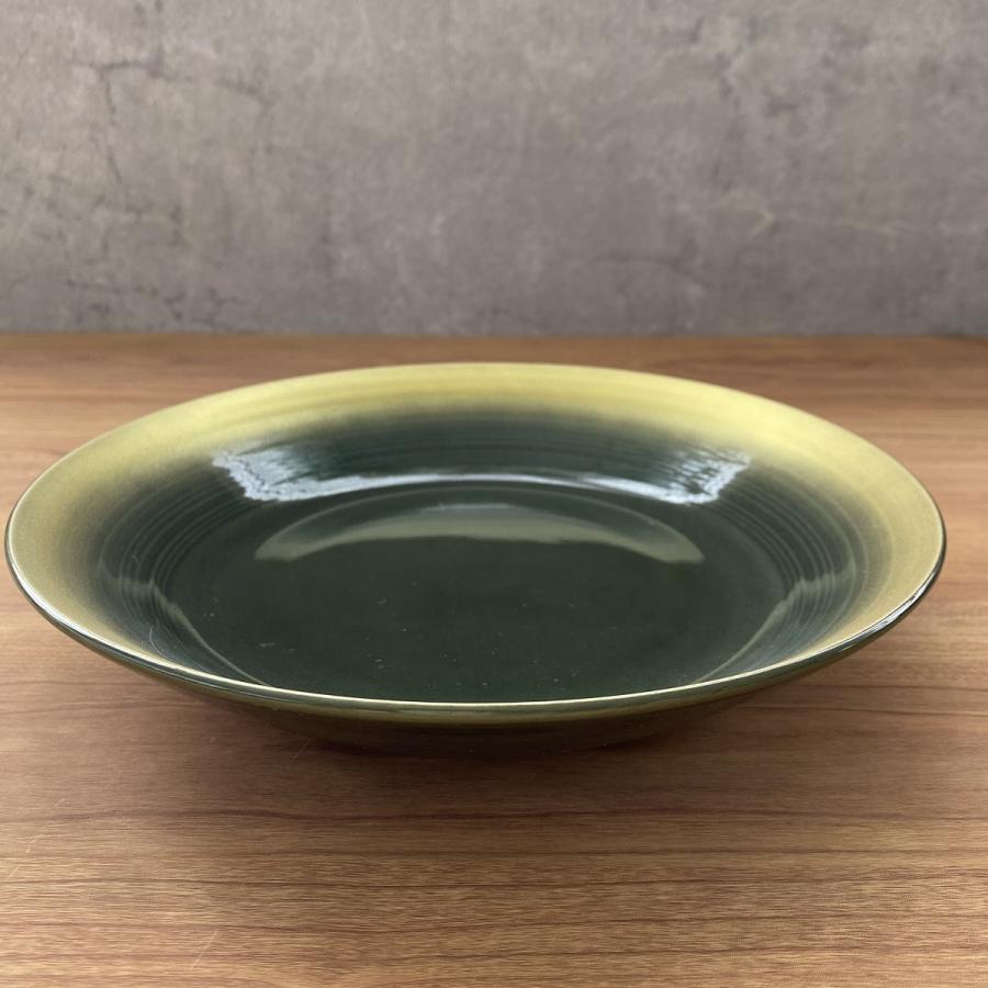 丸皿 金彩吹21cm深皿 ゴールド 食器 うつわ 陶器 美濃焼|minopota|06